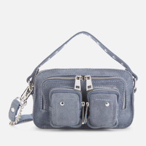 Núnoo Women's Helena Suede Cross Body Bag - Blue