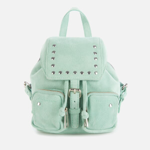 Núnoo Women's Sofia Mini Suede Bag - Green