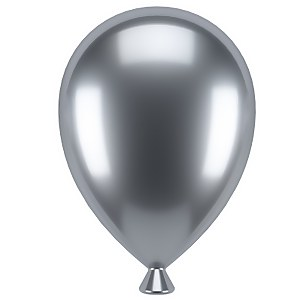 Umbra UP Balloon Hanging Photo Display - Chrome