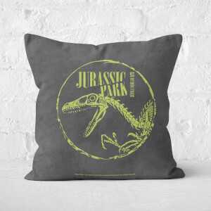 Jurassic Park Skell Square Cushion