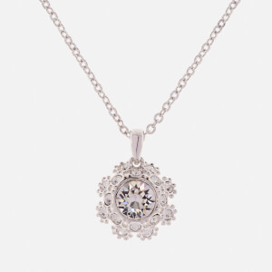 Ted Baker Women's Sirou Crystal Daisy Lace Pendant - Rhodium