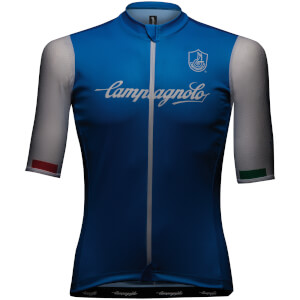 Campagnolo Iridio Jersey - Turquoise/White