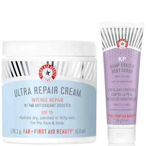First Aid Beauty Ultra Repair Cream and KP Body Scrub Bundle