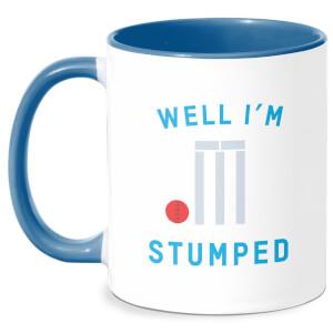 Well Im Stumped Mug - White/Blue