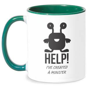 HELP Ive Created A Monster Mug - White/Green