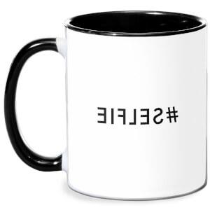 Mirror Selfie Mug - White/Black