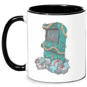 Arcade Tress Mug - White/Black