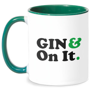 Gin & On It Mug - White/Green