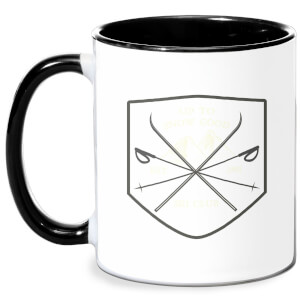 Up To Snow Good Mug - White/Black