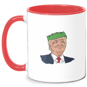 Christmas Trumper Mug - White/Red