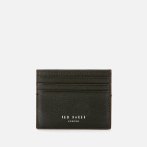 Ted Baker Men's Cascade Leather Card Holder - Black