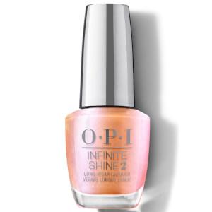 OPI Hidden Prism Limited Edition Infinite Shine Long Wear Nail Polish, Coral Chroma 15ml