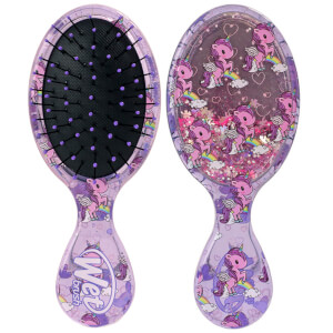 WetBrush Liquid Glitter Mini Detangler Brush - Unicorn Glitter