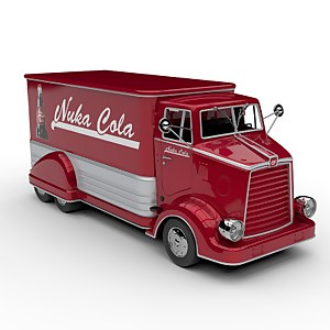 The Wand Company Fallout Limited Edition Diecast Nuka-Cola Delivery Truck