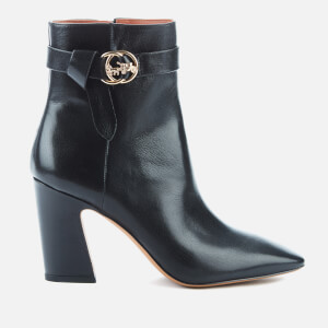 Coach Women's Teri Leather Heeled Boots - Black