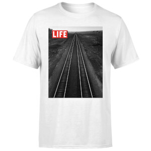 LIFE Magazine Railway Men's T-Shirt - White