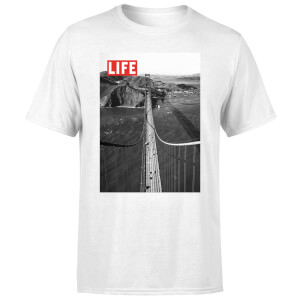 LIFE Magazine Bridge Men's T-Shirt - White