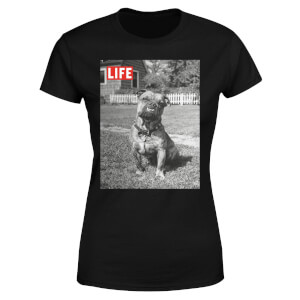 LIFE Magazine Dog Women's T-Shirt - Black