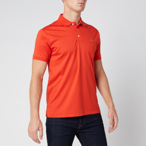 Polo Ralph Lauren Men's Slim Fit Pima Polo Shirt - Orangey Red