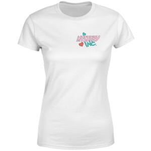 T-shirt Mystery Inc Pocket - Blanc - Femme