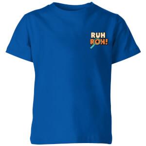 T-shirt Ruh-Roh! Pocket - Bleu - Enfants
