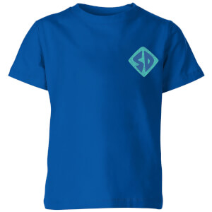 Scooby-Doo Logo Kids' T-Shirt - Royal Blue