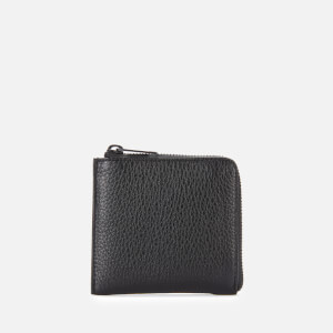 Maison Margiela Men's Leather Zip Wallet - Black