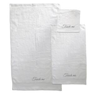 Touch Me Towel Bundle - White
