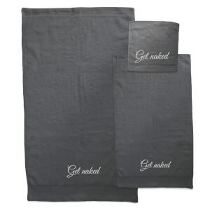 Get Naked Towel Bundle - Black
