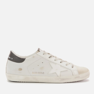 Golden Goose Deluxe Brand Women's Superstar Leather Trainers - Ice/Light Grey/White/Black