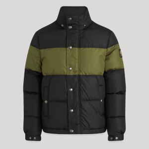 Belstaff Men's Dome Down Jacket - Black/Sage