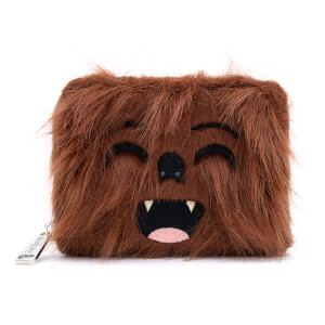 Loungefly Star Wars Faux Fur Chewbacca Zip Around Wallet