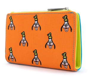 Loungefly Disney Sensational 6 Goofy Aop Canvas Wallet