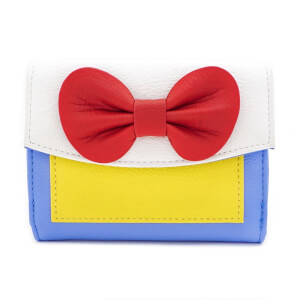 Loungefly Disney Snow White Cosplay Satin & Faux Leather Purse
