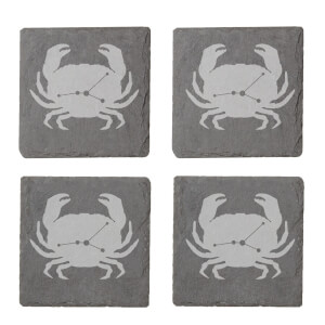 Cancer Engraved Slate Coaster Set