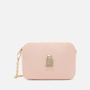 Furla Women's Sleek Mini Camera Cross Body Bag - Candy Rose
