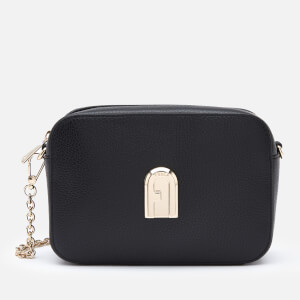 Furla Women's Sleek Mini Camera Cross Body Bag - Black