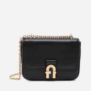 Furla Women's Cosy Mini Shoulder Bag - Black