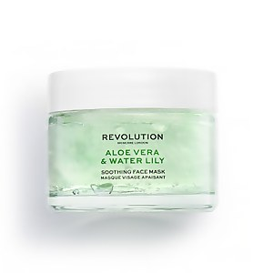 Revolution Skincare Aloe Vera and Water Lily Soothing Face Mask 50ml