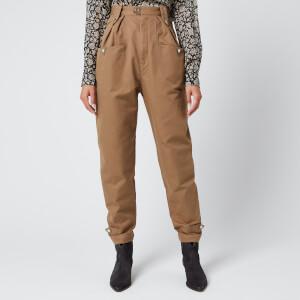 Isabel Marant Étoile Women's Pulcie Trousers - Khaki