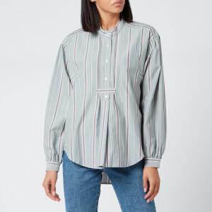 Isabel Marant Étoile Women's Alison Shirt - Greyish Blue