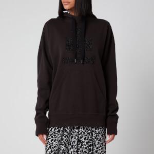 Isabel Marant Étoile Women's Mansel Logo Sweatshirt - Faded Black