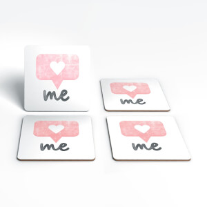 The Motivated Type Love Me Coaster Set