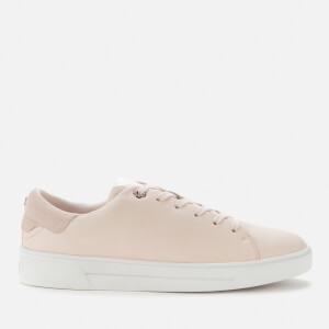 Ted Baker Women's Cleari Leather Cupsole Trainers - Light Pink