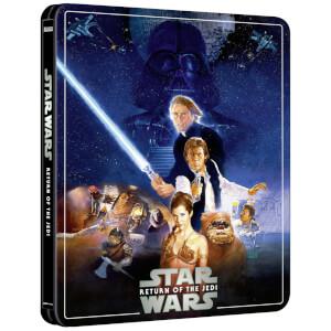 Exclusivité Zavvi : Steelbook Star Wars, épisode VI : Le Retour du Jedi – 4K Ultra HD (Édition 3 Disques Blu-ray inclus)