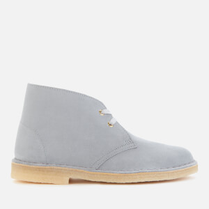 Clarks Originals Women's Suede Desert Boots - Blue Grey