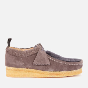 Clarks Originals Women's Suede Wallabee Shoes - Grey