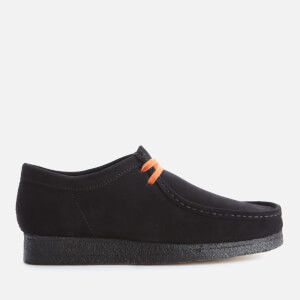 Clarks Originals Men's Suede Wallabee Shoes - Black