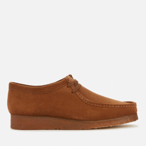 Clarks Originals Men's Suede Wallabee Shoes - Cola