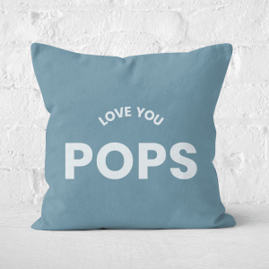 Love You Pops Square Cushion